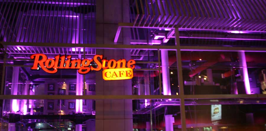 Rolling Stone Café Well Known Musical Spot in Jakarta